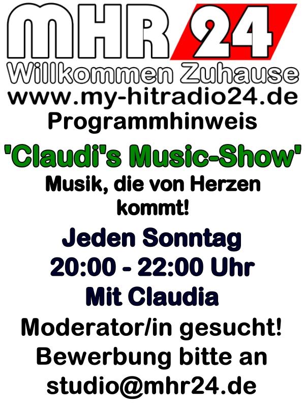 Claudi's Musikshow am Sonntag