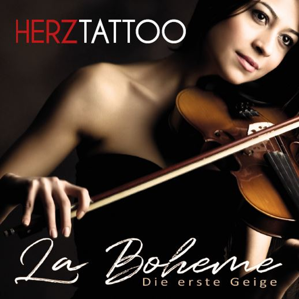 Herztattoo La Boheme (Die erste Geige)