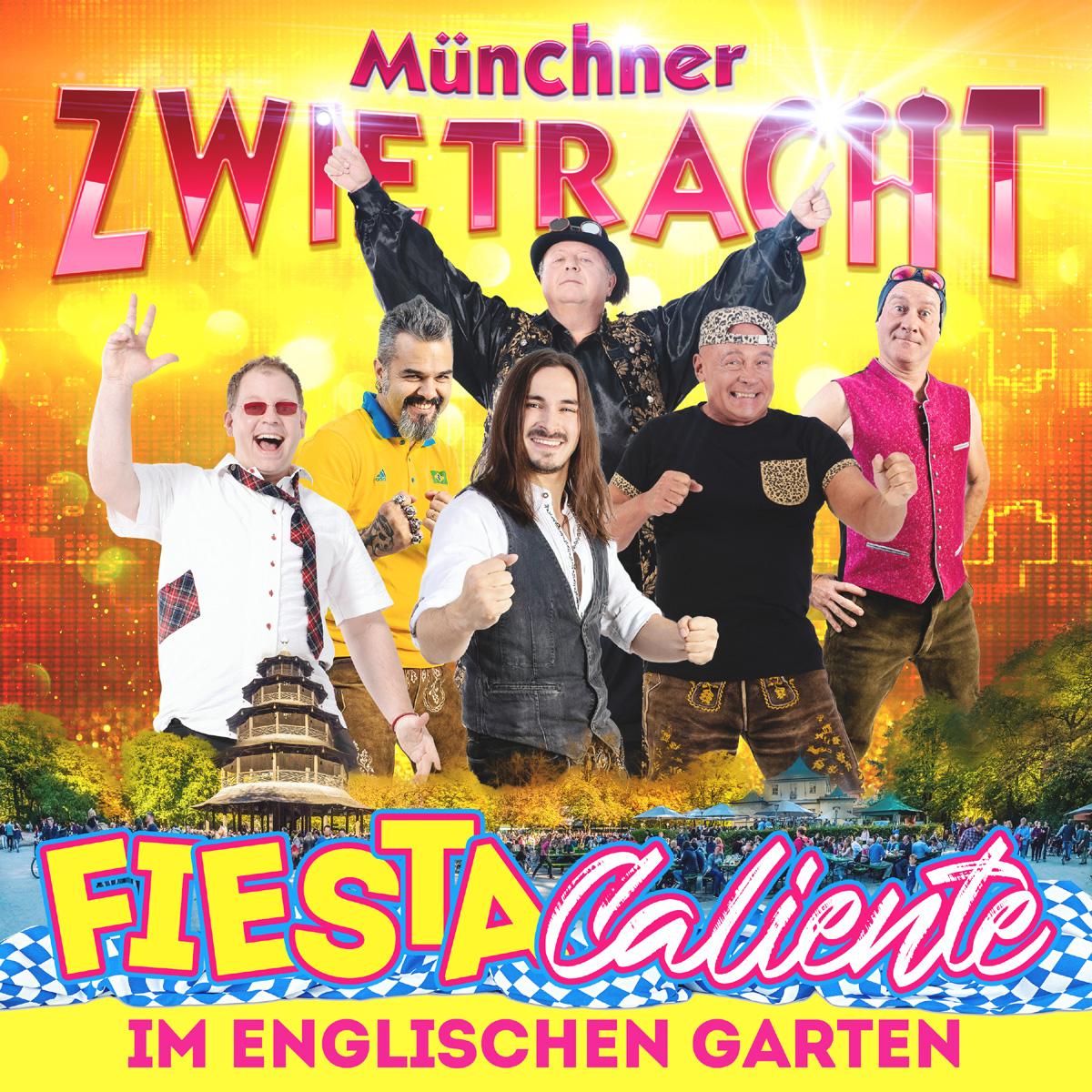 Münchner Zwietracht Fiesta Caliente im englischen Garten